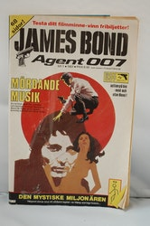 Serietidning James Bond Agent 007 Nr 1 - År 1987