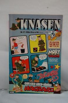 Serietidning Knasen Nr 17 - År 1986