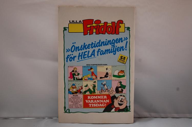 Serietidning Stålmannen Nr 6 - År 1985