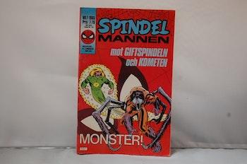 Spindelmannen Nr 7 - År 1985