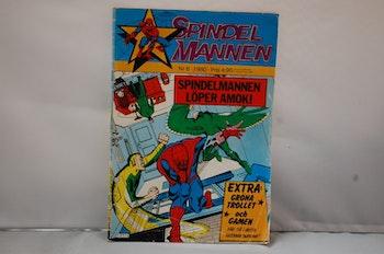 Spindelmannen Nr 6 - År 1980