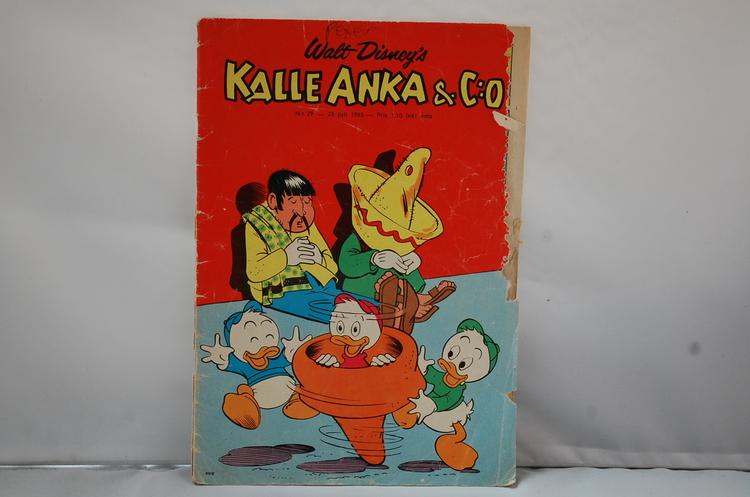 Kalle Anka & Co Nr 29 - År 1965