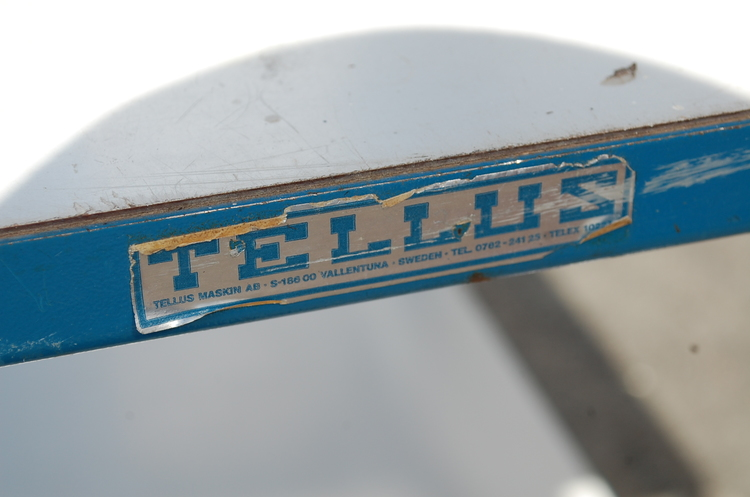 Rullvagn Tellus med handtag