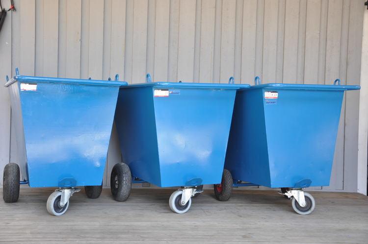 Avfallsvagnar från Intra - 400 liter