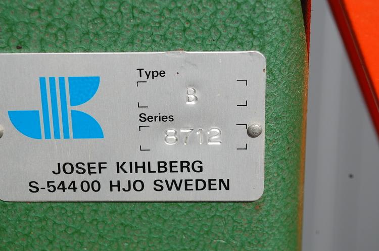 Manuell kartonghäftare / bottenhäftare, Josef Kihlberg Type B 8712
