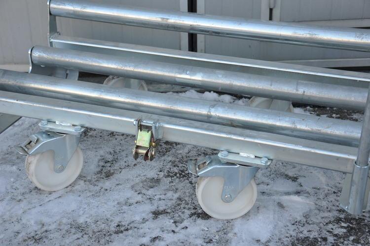 Rullvagn för mattor från Monena