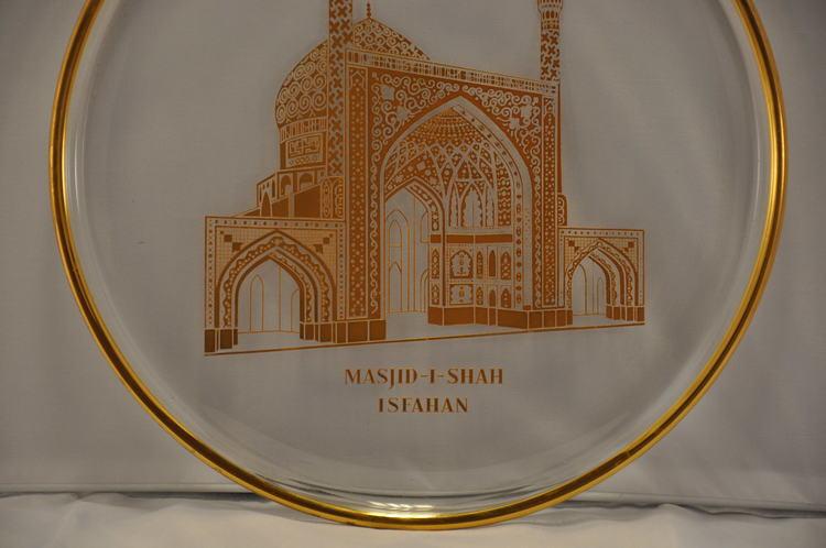 Masjid i Shah Isfahan tallrik