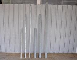 Galvade delar till Gunnebo förstärkt stängsel