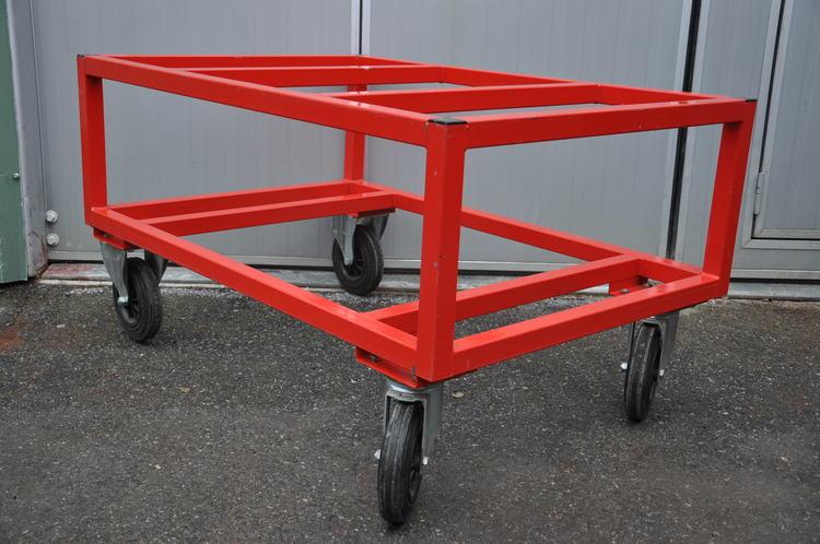 Pallvagn 1000 kg - 120 x 80 cm