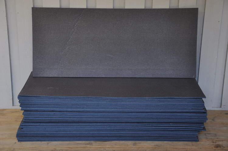 Parti med mindre yogamattor