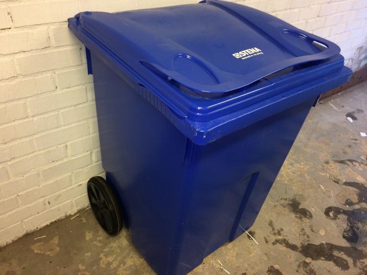 Sopkärl / avfallskärl - 370 liter
