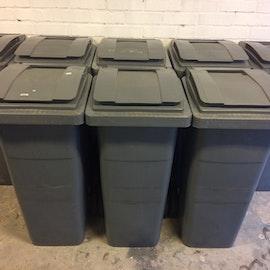 Sopkärl Grå Plastic Omnium - 140 liter