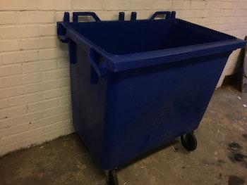 Sopkärl Blå utan lock - 500 liter