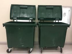 Avfallskärl Gröna - 750 liter
