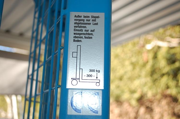 Manuell staplare, EUROKRAFT - Max 300 kg