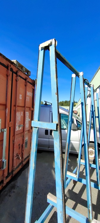 Glasvagn - Skivvagn - Byggvagn