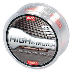 ASSO Flurocarbon High Stretch 50m Dispenser White