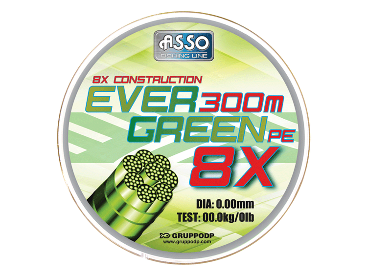 ASSO Evergreen ST Spool 130m Green