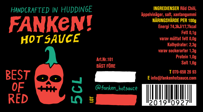 BEST OF RED Hot Sauce