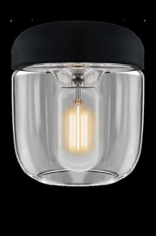 UMAGE - Lampskärm - Acorn Svart Polerat stål