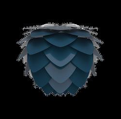 UMAGE - Lampskärm - Aluvia Mini Petrol Blue