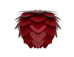UMAGE - Lampskärm - Aluvia, Ruby Red