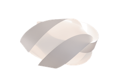 UMAGE - Lampskärm - Ribbon, Vit Medium