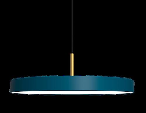 UMAGE - Taklampa - Asteria Petrol Blue