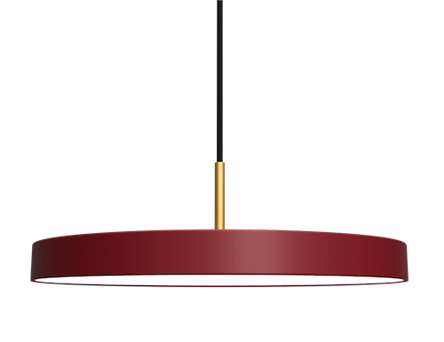 UMAGE - Taklampa - Asteria Ruby Red