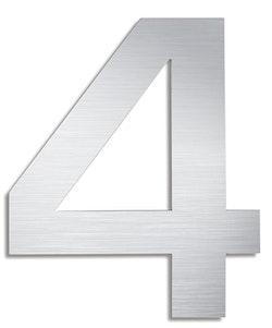 BLOMUS Signo husnummer 4 - Rostfritt stål