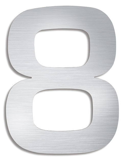 BLOMUS Signo husnummer 5 - Rostfritt stål
