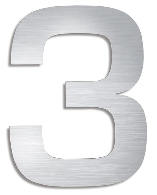 BLOMUS Signo husnummer 6 - Rostfritt stål