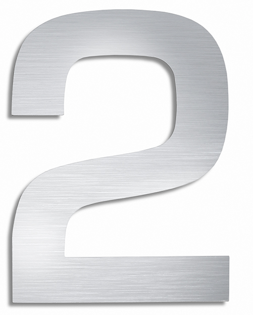 BLOMUS Signo husnummer 7 - Rostfritt stål