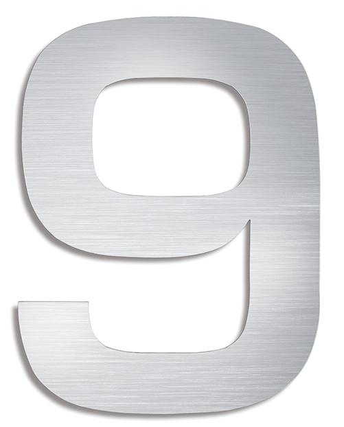 BLOMUS Signo husnummer 9 - Rostfritt stål