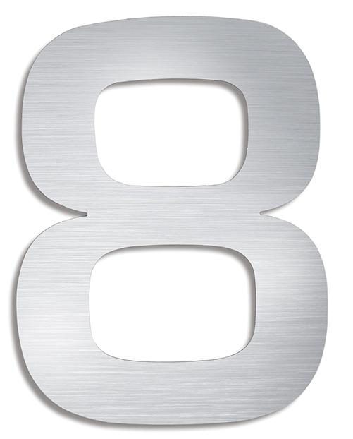 BLOMUS Signo husnummer 0 - Rostfritt stål