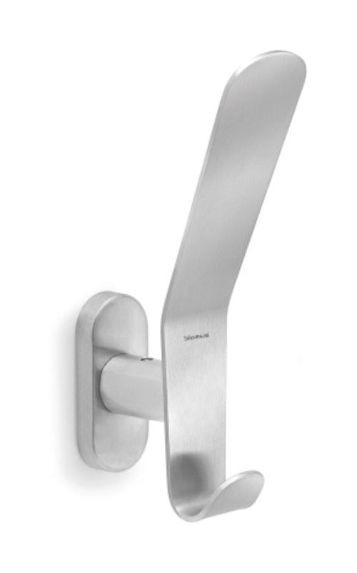 BLOMUS Vasco väggkrok - Rostfritt stål, dubbel