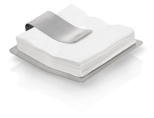 BLOMUS Scudo servetthållare - Rostfritt stål
