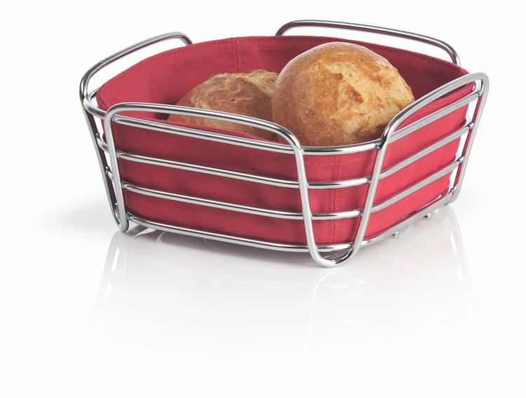 BLOMUS Delara brödkorg, liten - Röd