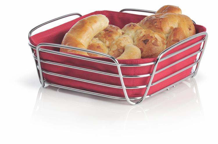 BLOMUS Delara brödkorg, stor - Röd