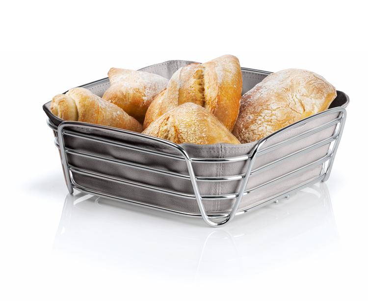 BLOMUS Delara brödkorg, stor - Taupe