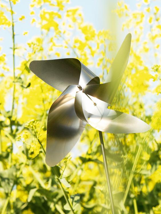 BLOMUS Viento snurra, 4 petal - Rostfritt stål