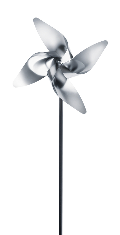 BLOMUS Viento snurra, 4 petal, liten - Rostfritt stål