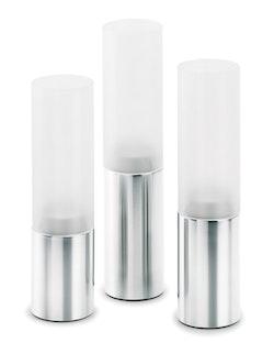 BLOMUS Faro värmeljushållare - Frostat glas 3st
