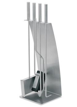 BLOMUS Chimo eldstad set - Rostfritt stål (5 delar, pilbågefront)