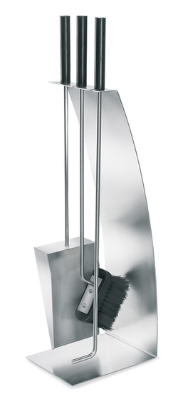BLOMUS Chimo eldstad set - Rostfritt stål (4 delar, pilbågefront)