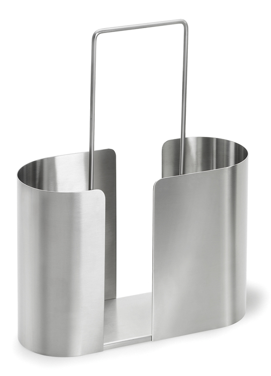 BLOMUS Slice tidningsställ - Rostfritt stål
