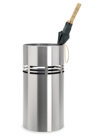 BLOMUS Slice paraplyhållare, 25 cm - Rostfritt stål