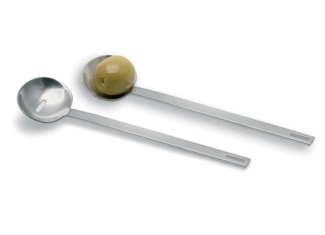 BLOMUS Utilo olivskedar - Rostfritt stål 2st