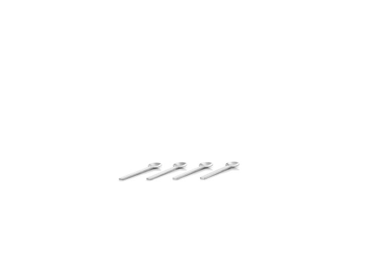 BLOMUS Utilo Cappucinoskedar - Rostfritt stål, 4 st