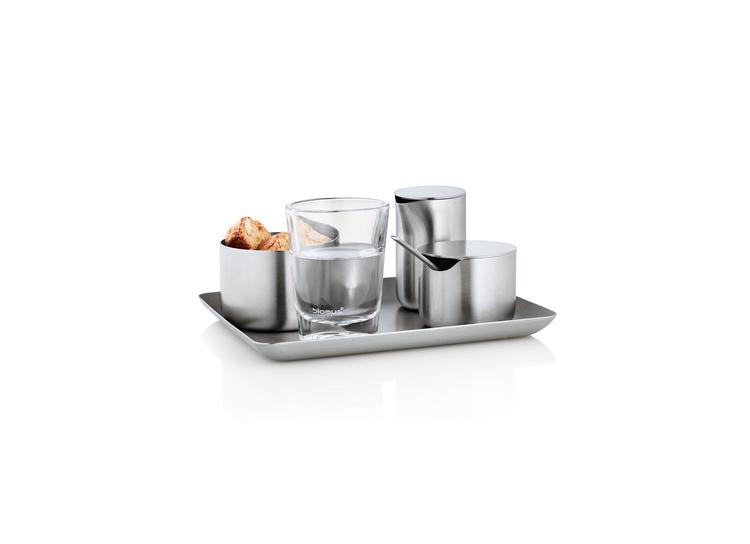 BLOMUS Basic sockerskål - Rostfritt stål